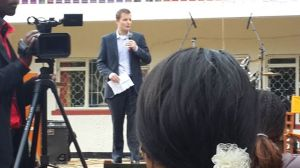 "British Council Kenya Country director Hugh ""Hug"" Moffat"