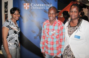 Edith Marely, Danson Ng'ang'a and Catherine Kinyua