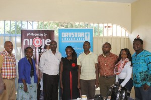 Creatives at the launch of the initiative.