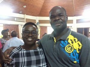 Jennifer Nansubuga Makumbi with Jagero