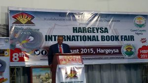 Foreign Minister of Somaliland Dr Mohame Bihi Yonis