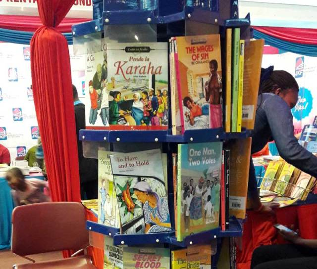 Pacesetter Books at Moran Publishers stand.