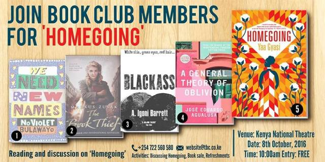 Text Book Centre Book Club discusses Homegoing by Yaa Gyasi