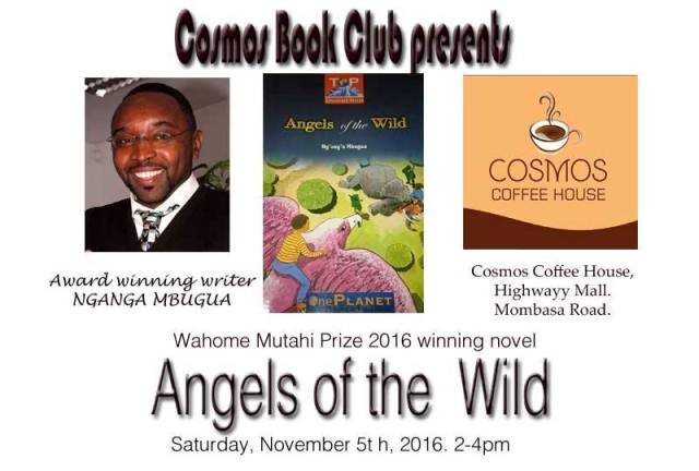 Cosmos Book Club features Ng'ang'a Mbugua's Angels of the Wild