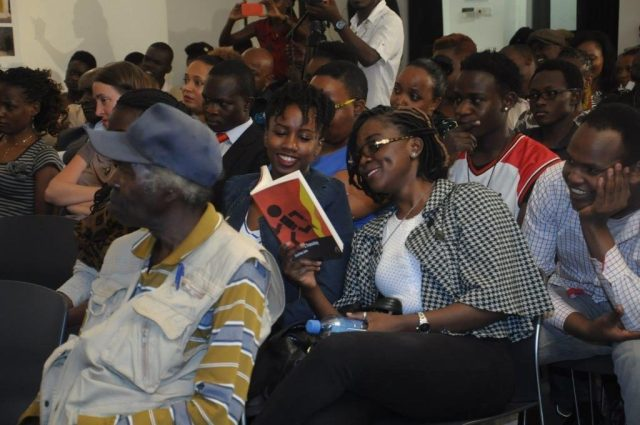Audience reads Born on A Tuesday