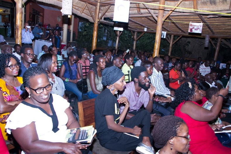 Audience at the Uganda Museum