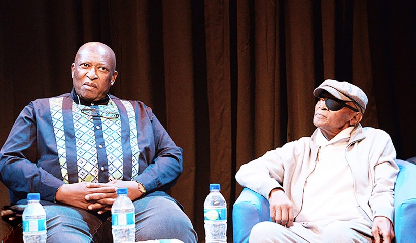 Zakes Mda and Hugh Masekela chat about life, arts and everything else