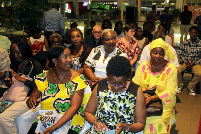 Guests at the From A to Z Diverse Voices from Zambia launch