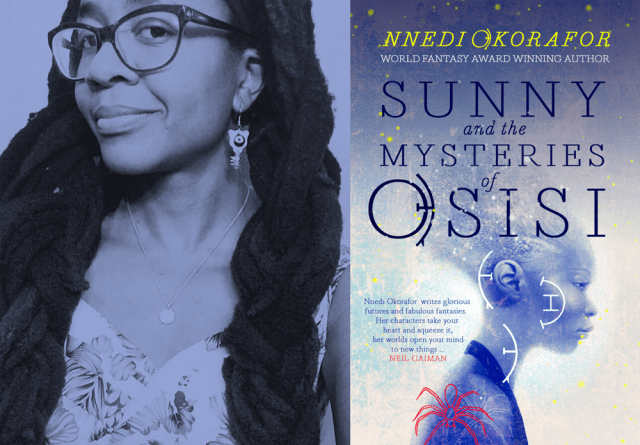 Nnedi Okorafor and the Sunny and the Mysteries of Osisi cover