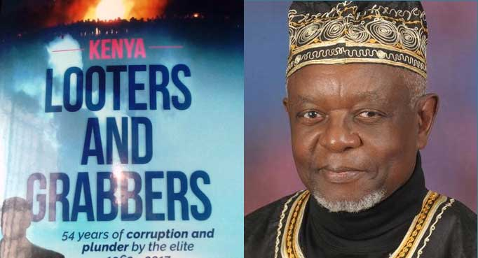 Joe Khamisi's newest book Looters and Grabbers.