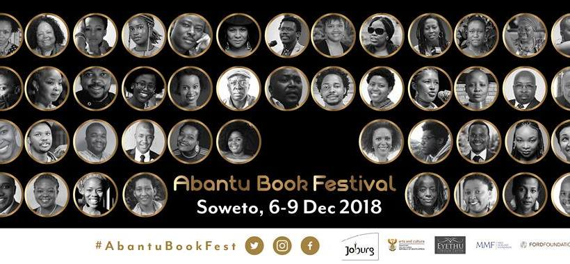 Abantu Book Festival 2018 artist line up unveiled.
