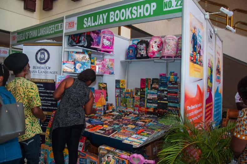 Ghana International Book Fair 2018 stand