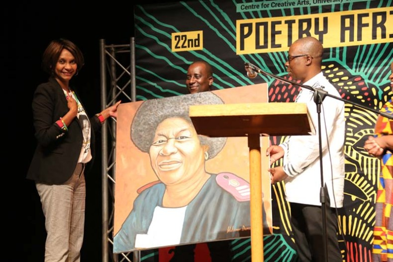 Tribute at Poetry Africa 2018