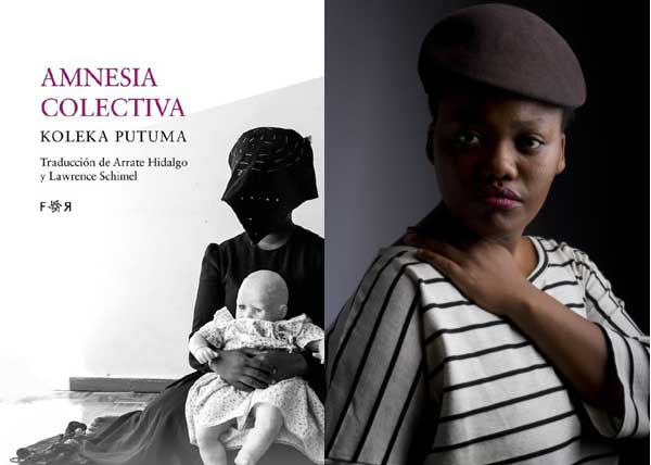 "Koleka Putuma poetry collection ""Collective Amnesia"" now in Spanish."