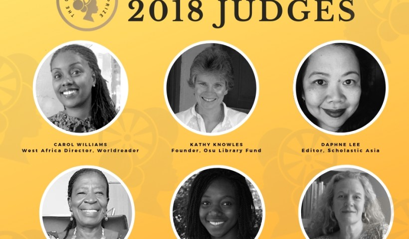 Golden Baobab Prize 2018 judges Announced.