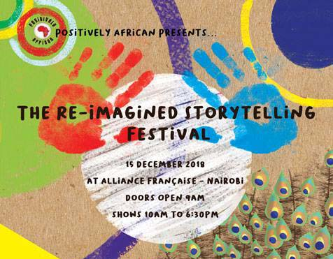 Reimagined storytelling festival 2018
