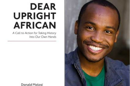 """Donald Molosi's """"Dear Upright African"""" out on February 28."""