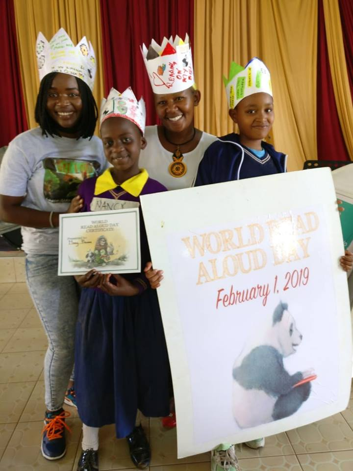 World Read Aloud Day 2019 in Kenya