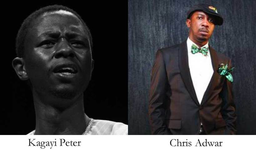 Kagayi Peter, Chris Adwar for Goethe's Artistic Encounters on April 24.