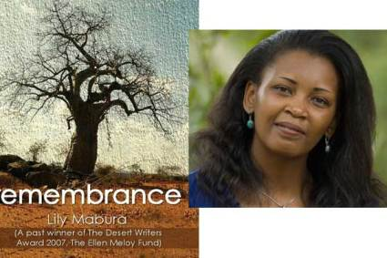 """Lily Mabura's """"Remembrance"""" published by Longhorn Publishers."""