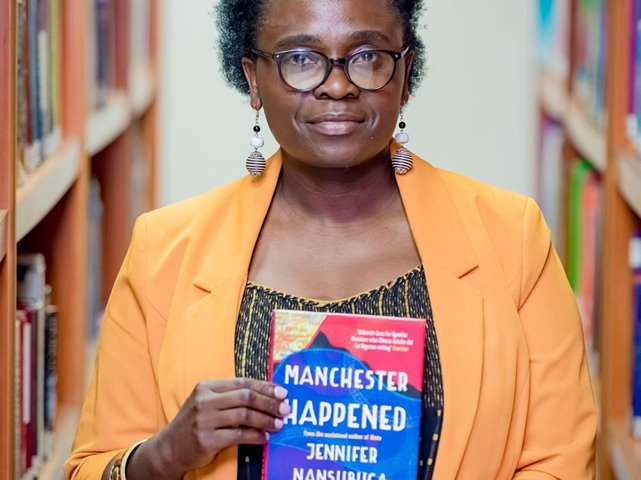 Jennifer Nansubuga Makumbi at the Kigali Public Library