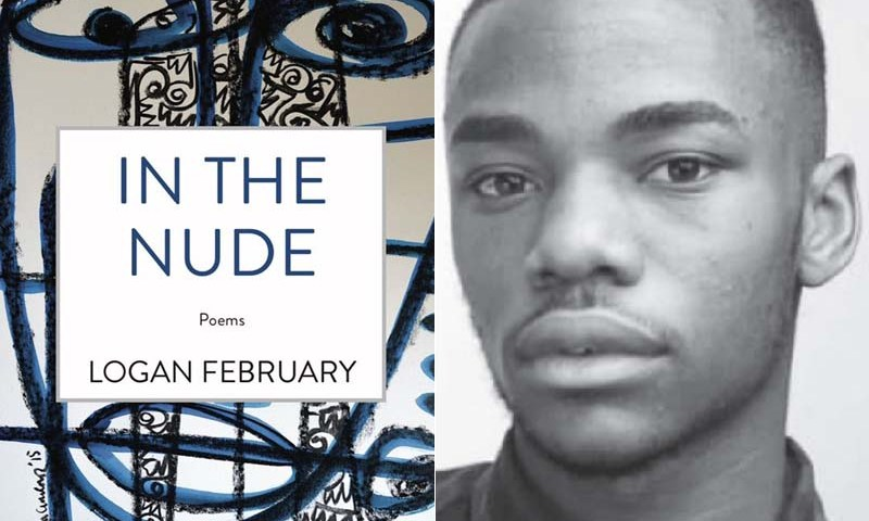 "Logan February's poetry collection ""In The Nude"" now available."