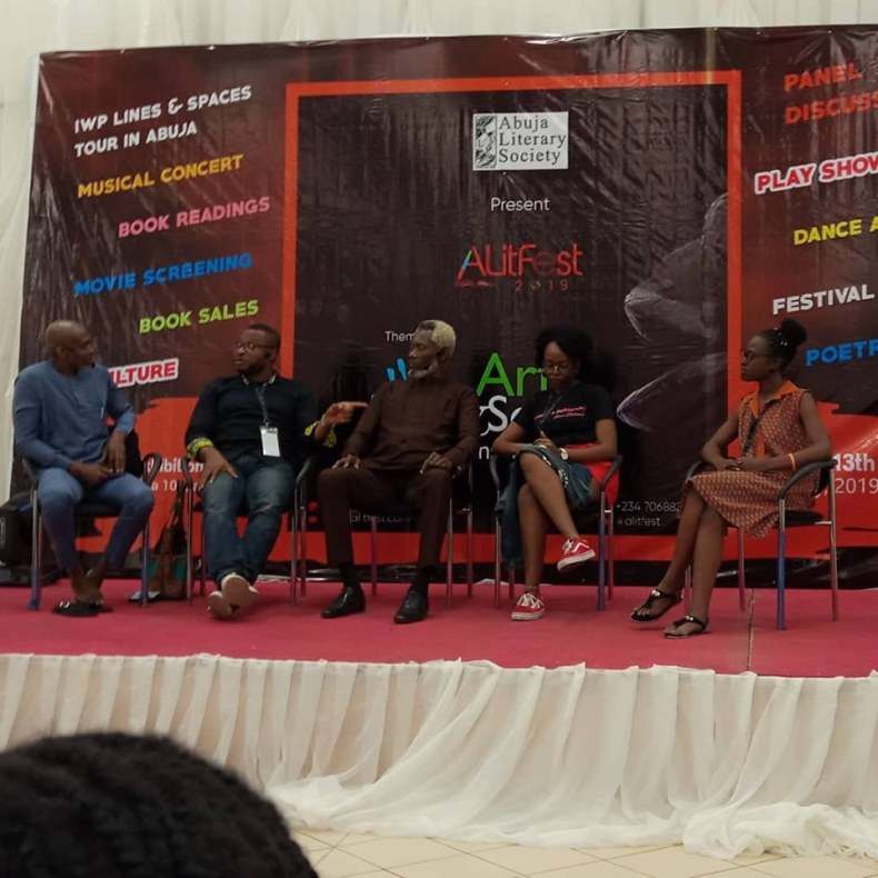"""How to Write about Africa"" with Odafe Atogun, Eghosa Imasuen, Chuma Nwokolo, Ope Adedeji,moderated by Writivism Managing Editor Esther Mirembe."