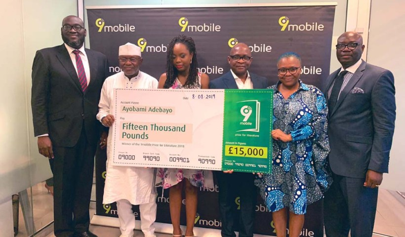 Ayobami Adebayo wins 9Mobile Prize for Literature