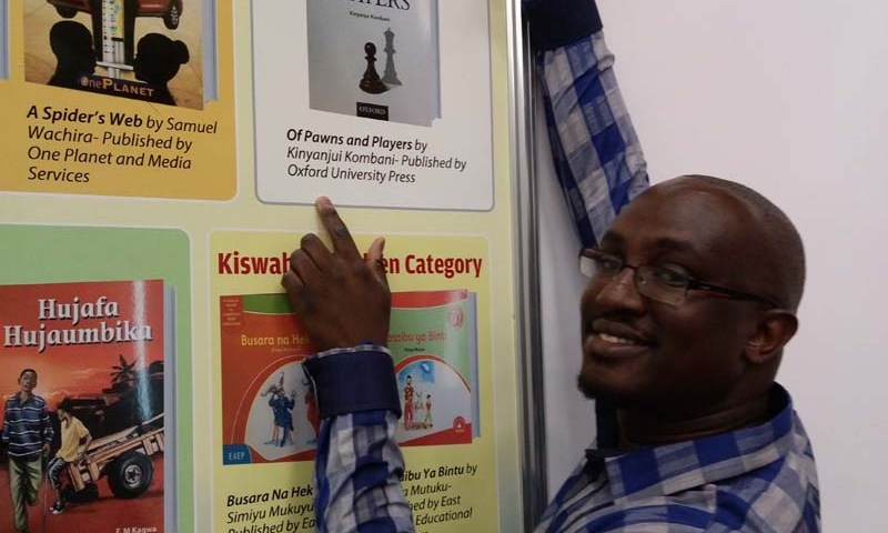 Kinyanjui Kombani at Nairobi International Book Fair 2019