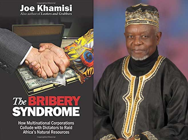 """Joe Khamisi's latest book """"The Bribery Syndrome"""" now available on Amazon."""