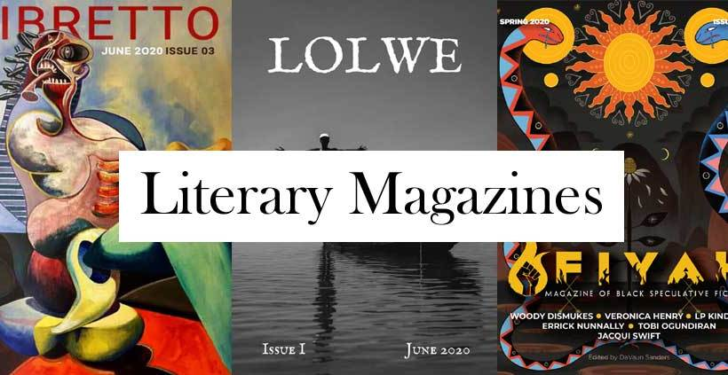 Fiyah, Libretto, and Lolwe: A tale of three literary magazines.