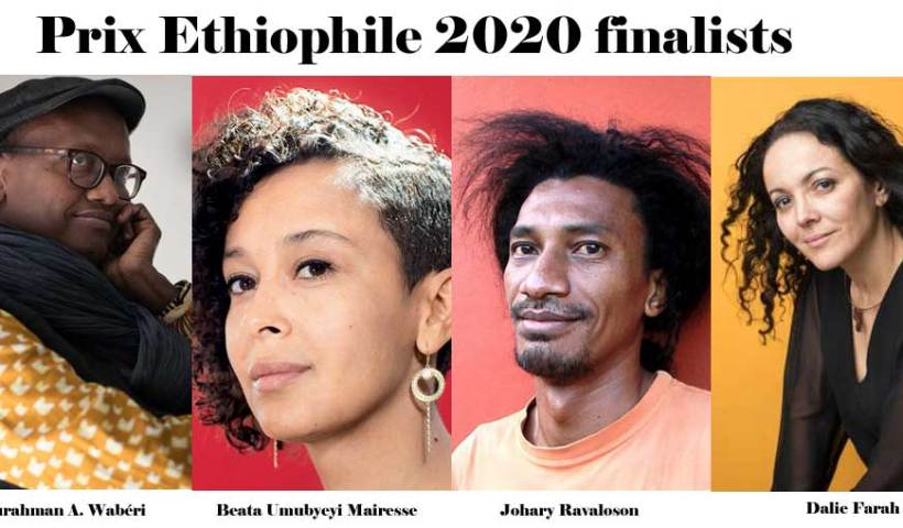 Prix Ethiophile 2020 finalists announced.