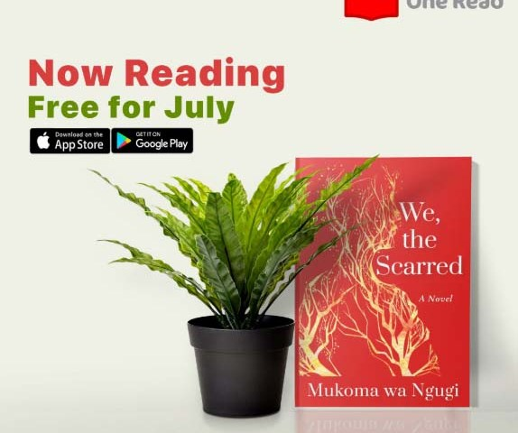 "Mukoma Wa Ngugi novel ""We, The Scarred"" is One Read App's July read."