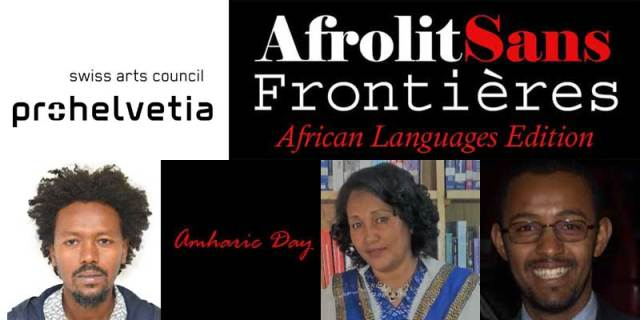 Amharic Day at Afrolit Sans Frontières African Languages Edition.