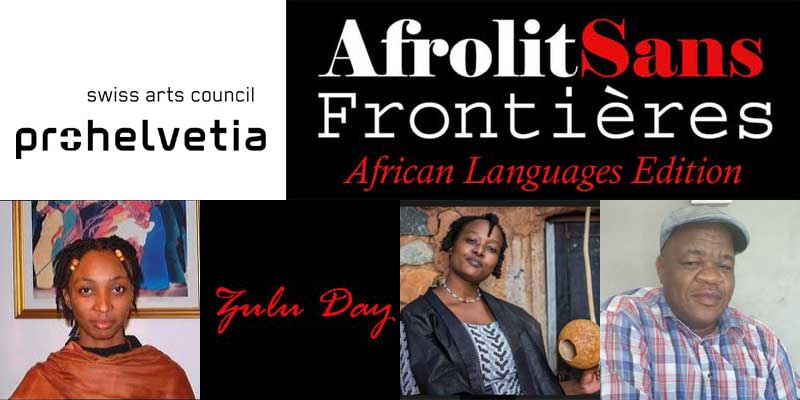 Zulu Day at Afrolit Sans Frontières African Languages Edition.