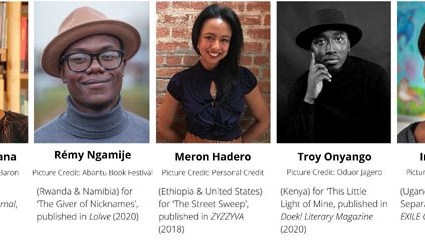 AKO Caine Prize for African Writing 2021 shortlist announced.