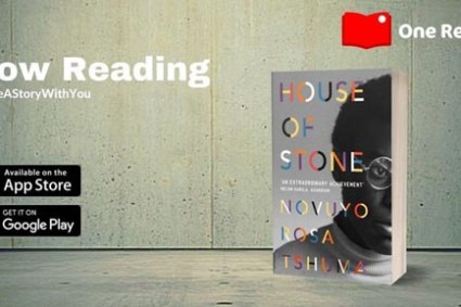 """Novuyo Rosa Tshuma's """"House of Stone"""" for One Read in June 2021."""