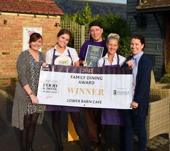 Rayleigh café wins best for family dining