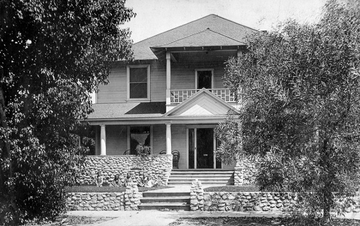 The Ensley Home at 126 West D St., Ontario, CA