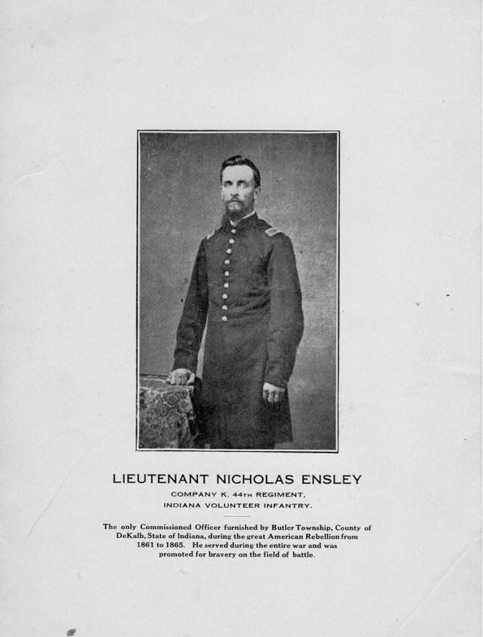 Lieutenant Nicolas Ensley