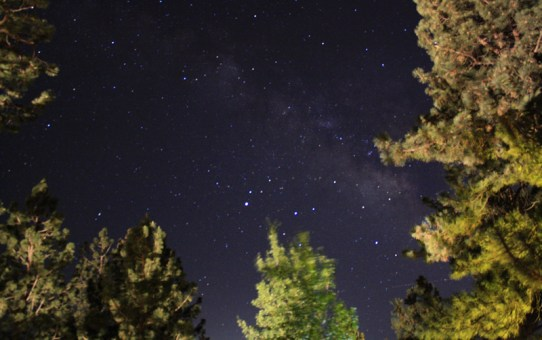Wide Angle Astrophotography, playing with ISO Settings