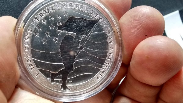.9999 PURE FINE SILVER TRUE PATRIOT 100% MINED & MINTED IN USA