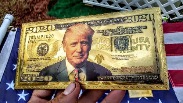 24K GOLD TRUMP FEDERAL RESERVE BANKNOTE COLLECTOR'S SERIES SET #5 GET THIS AWESOME NEWLY RELEASED, 10 PIECE AUTHENTIC 'PRESIDENT TRUMP' FEDERAL RESERVE BANK NOTE COLLECTION SERIES SET TODAY - I HAVE A VERY LIMITED SUPPLY! NO QUANTITY LIMITS! Smart investors and the elite are buying it up, as much and as fast as possible! Here's the BEST PART about this AMAZING OFFER:If you ACT NOW and secure your order TODAY forthis AMAZING 10PC SPECIAL EDITION COLLECTION, I WILL SHIP THESE TO YOU AT NO ADDITIONAL CHARGE (International Order pay shipping)! That makes this THE OTHER MOST COMPLETE AUTHENTIC 24K GOLD TRUMP BANK NOTE SPECIAL COLLECTIONS AVAILABLE - ANYWHERE - TODAY! They are Collector's Items and will only go UP in value, especially after POTUS Trump gets re-elected! First Come, First Served!