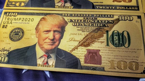 24K GOLD TRUMP FEDERAL RESERVE BANKNOTE COLLECTOR'S SERIES SET #5 GET THIS AWESOME NEWLY RELEASED, 10 PIECE AUTHENTIC 'PRESIDENT TRUMP' FEDERAL RESERVE BANK NOTE COLLECTION SERIES SET TODAY - I HAVE A VERY LIMITED SUPPLY!  NO QUANTITY LIMITS!  Smart investors and the elite are buying it up, as much and as fast as possible! Here's the BEST PART about this AMAZING OFFER: If you ACT NOW and secure your order TODAY for this AMAZING 10PC SPECIAL EDITION COLLECTION,  I WILL SHIP THESE TO YOU AT NO ADDITIONAL CHARGE (International Order pay shipping)! That makes this THE OTHER MOST COMPLETE AUTHENTIC 24K GOLD TRUMP BANK NOTE SPECIAL COLLECTIONS AVAILABLE - ANYWHERE - TODAY!  They are Collector's Items and will only go UP in value, especially after POTUS Trump gets re-elected! First Come, First Served!