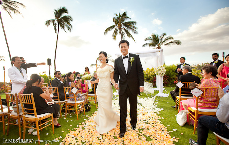 Rebecca Amp Peter Wedding Four Seasons Maui At Wailea