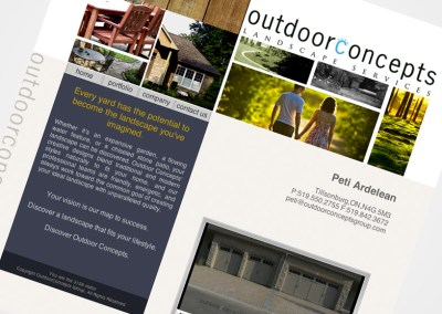 Outdoorconcepts Website