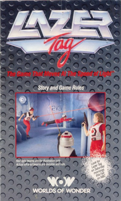 Lazer Tag Manual - Cover