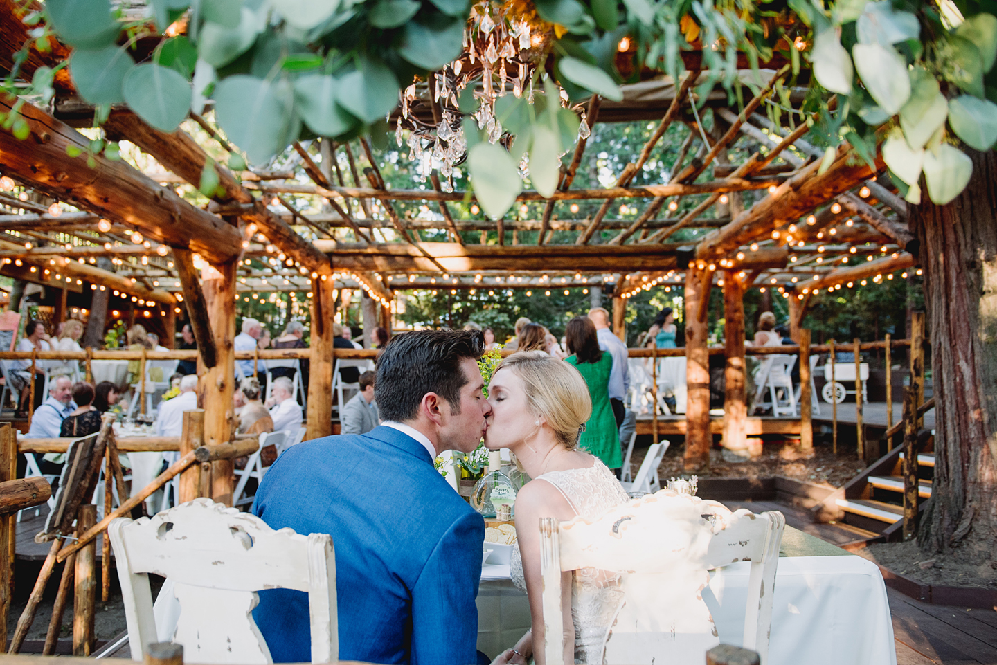 Romantic Lake Arrowhead Pine Rose Cabins Wedding Brooke