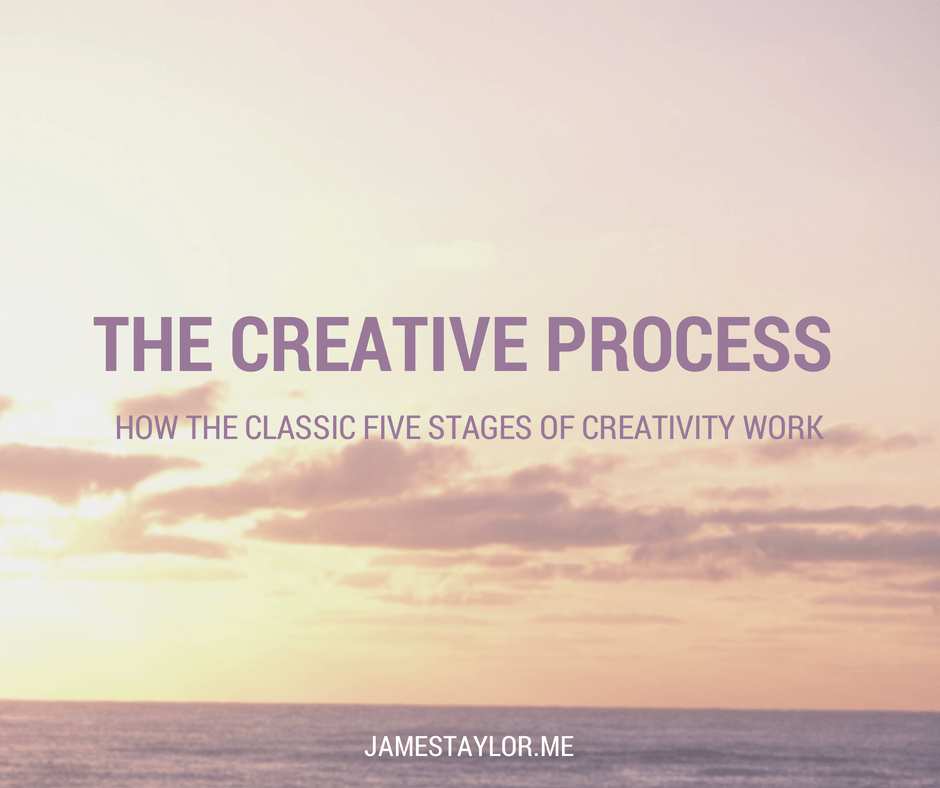 The Five Stages of the Creative Process