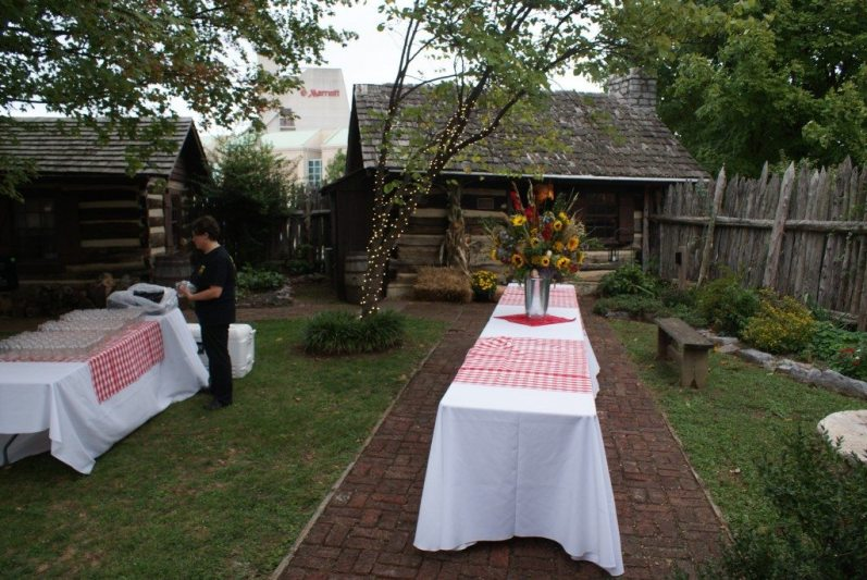 Private Events at James White's Fort